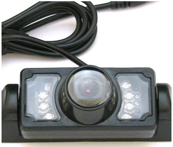Infrared 7LED Wireless Video Camera Car Rearview System