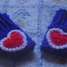 PATRIOTIC FINGERLESS GLOVES