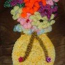 CROCHET VASE FLOWERS