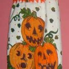 3 PUMPKIN Halloween CROCHET TOP towel