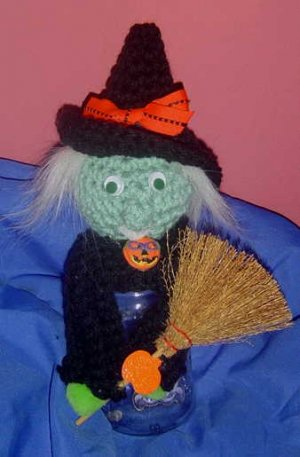 WITCHY JAR TOPPER