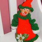 crochet CARLY CHRISTMAS CLOWN