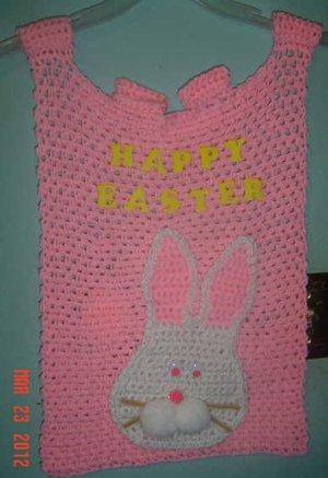 EASTER BASKET Crochet flag