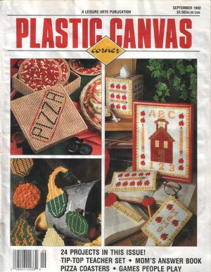 LEISURE ARTS PLASTIC CANVAS CORNER