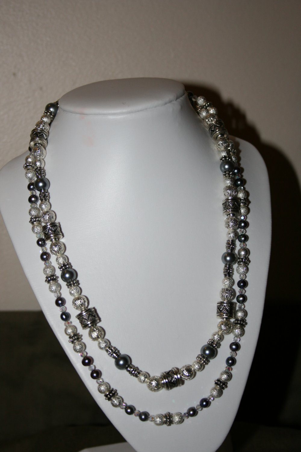 Silver Stardust Necklace