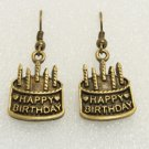 Birthday Cake Drop Earrings
