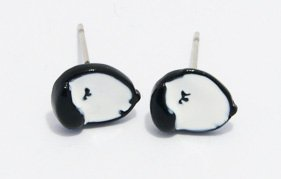 Korean Style Snoopy Stud Earrings