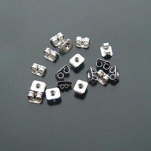 Stainless Steel 20 x Butterfly Earrings Backs Stoppers