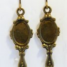 ♥Vintage Mirror Drop Earrings♥