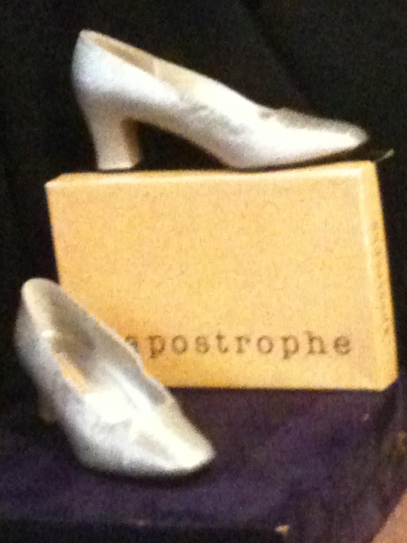 """Silver Shoes """"Freya"""" by Apostrophe"""