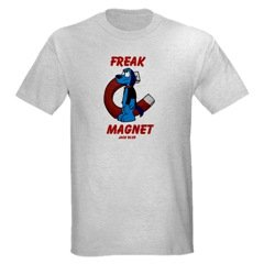 Jack Blue Freak Magnet Men's T-Shirt- Size: Medium