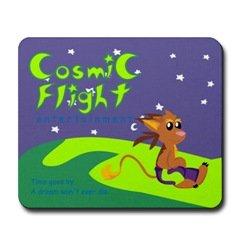 Cosmic Flight Entertainment Mousepad