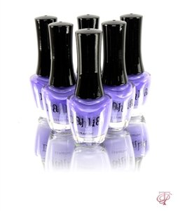 DAHLIA COSMETICS NAIL LACQUER POLISH IN IRIS 0.5 FL. OZ BOTTLES