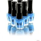 DAHLIA COSMETICS NAIL LACQUER POLISH IN NEON BLUE 0.5 FL. OZ BOTTLES