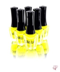 DAHLIA COSMETICS NAIL LACQUER POLISH IN YELLOW BLAST 0.5 FL. OZ