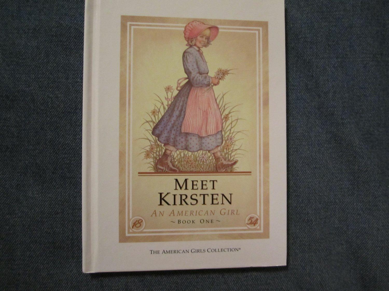 American Girl Doll Books~Meet Kirsten
