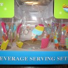Beverage Serving Set~New