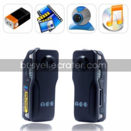 Thumb Size 640X480@30FPS Waterproof Sound-active Mini DV Digital Video Recorder Sports Camera