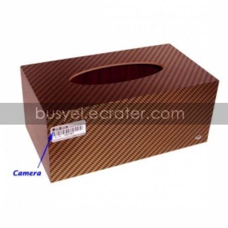 4GB Tissue Box Style Camera with Remote Control