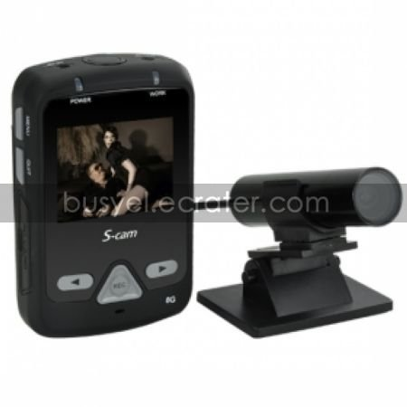 8GB HD Mini Bullet Camera Digital Video Record with 2 inch LED Screen Sony HAD CCD DVR (DCE1016)