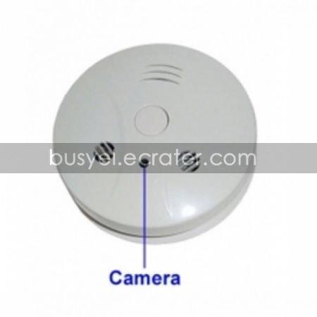 8GB Smoke Detector with 2.0MP Hidden Camera (2.0MP+Remote Control)