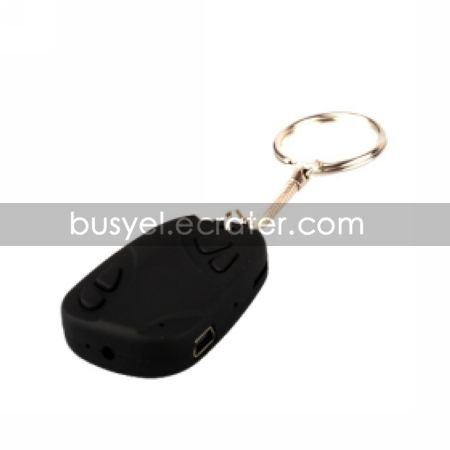 Car Key Chain with 30FPS Hidden Camera
