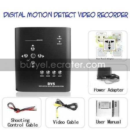 Digital Video Recorder with Motion Detection