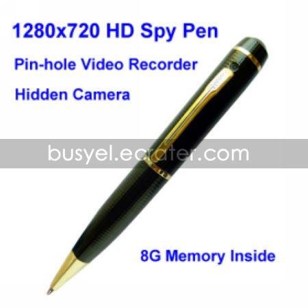 8GB Spy Pen with Hidden HD Camera