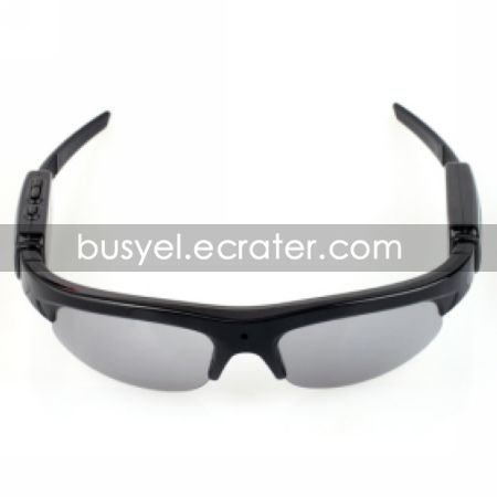 HD 1280960 Spy Sunglasses Camera with Digital Video Recorder MP3 Player Function Build-in 2GB
