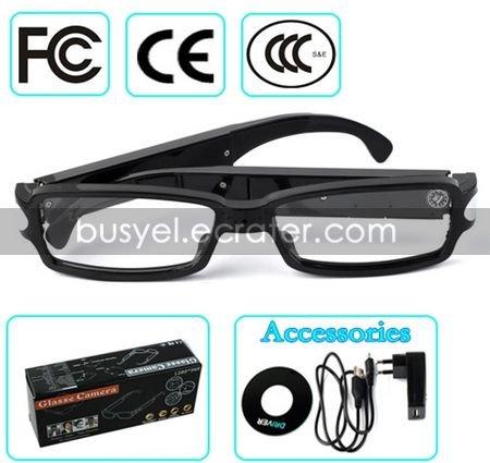 HD Spy Glass Camera with PC Camera Function Hidden Digital Video Recorder