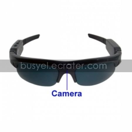 Sunglasses Spy Camcorder with 4GB TF Card and MP3 Player - Spy Camera  Hidden Camera (TRA303)