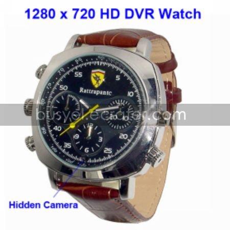 720P HD 1280x720 Sport Watch Digital Video Recorder with 4G MemoryHidden Camera (TRA565)