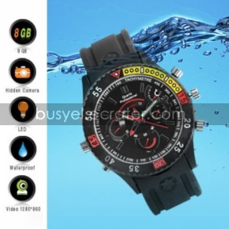 Digital Sports Watch + Hidden Camera