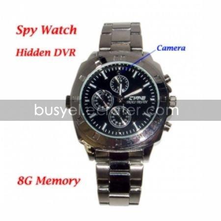 Fashion Design Watch Digital Video Recorder with 8G Memory Hidden Camera (QW018)
