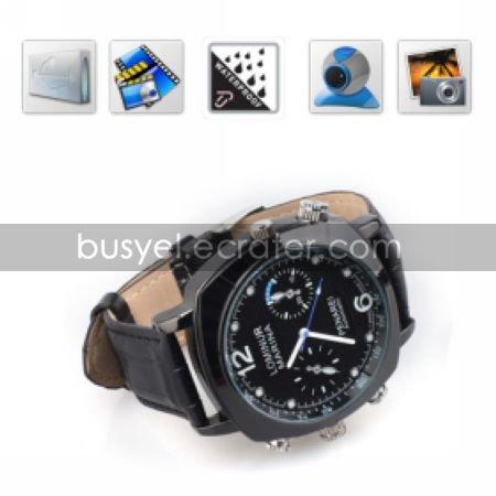 HD 720P 4GB Waterproof Wrist Spy Watch Camera Digital Video Recorder with PC Camera