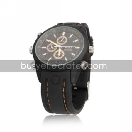 Waterproof Spy Watch with Video Recorder