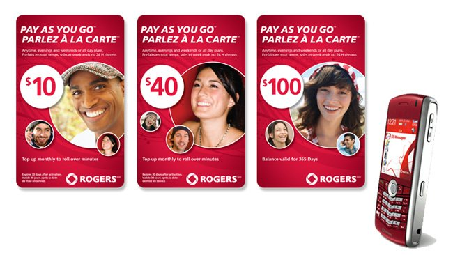 Rogers Pre-Paid Phone Cards