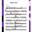 Big Band Arrangement muisc chart - Comes Love - PDF