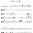 Knock on Wood - big band chart