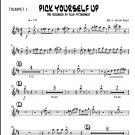 Pick Yourself Up - big band chart