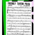 Friendly Tavern Polka - Big Band Arrangement