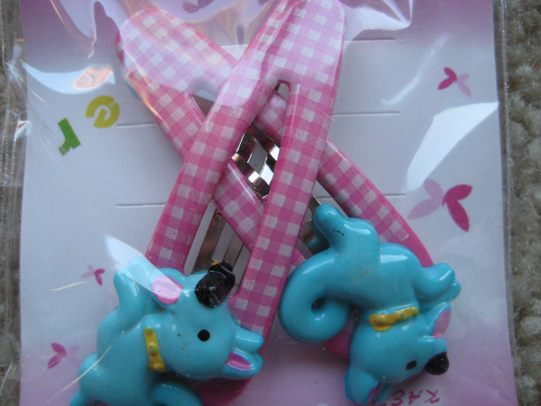 Pony hair clips A