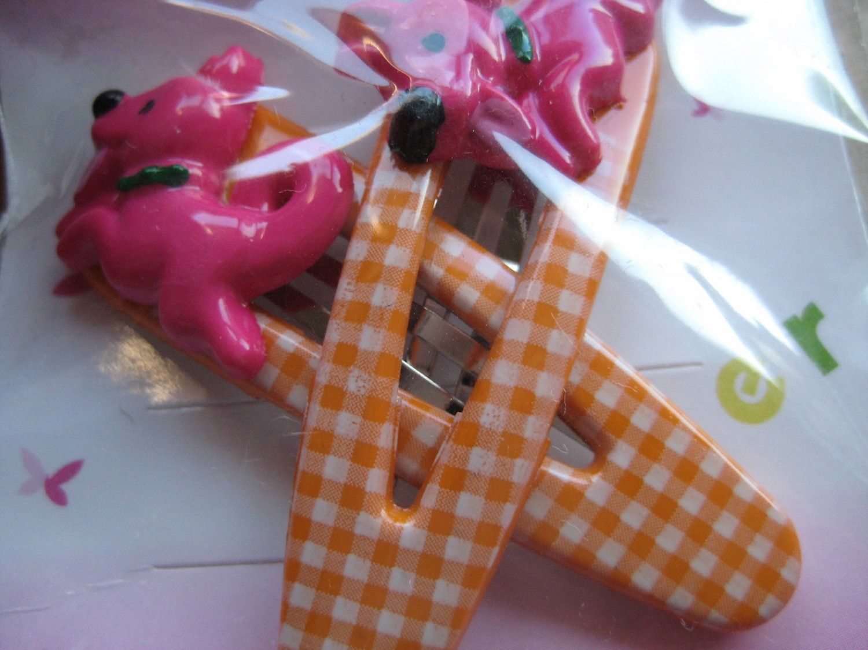 Pony hair clips F