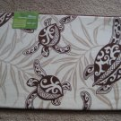 Hawaiian Memory Foam Mat (Honu Turtle Under Seaweed) size 32x20""