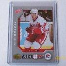 2007-08 Victory Hockey - EA Sports Face-Off #FO4 - Kris Draper