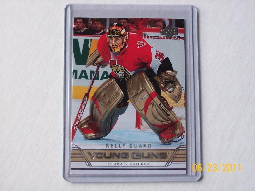 2006-07 Upper Deck Hockey Series 2 - Young Guns #479 - Kelly Guard