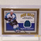 2006-07 UD Bee Hive Hockey - Matted Materials #MM-PM - Patrick Marleau