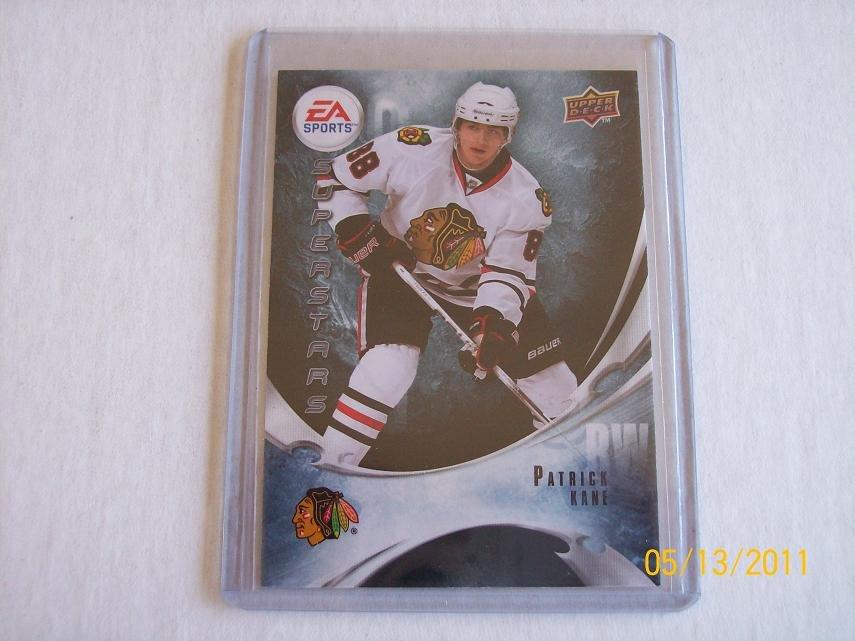 2010-11 Upper Deck Hockey Series 1 - EA Superstars #EA2 - Patrick Kane - SP