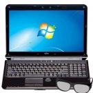 "Fujitsu LIFEBOOK 15.6"" Intel Core i5-2410M 3D Laptop (AH572) - Black"