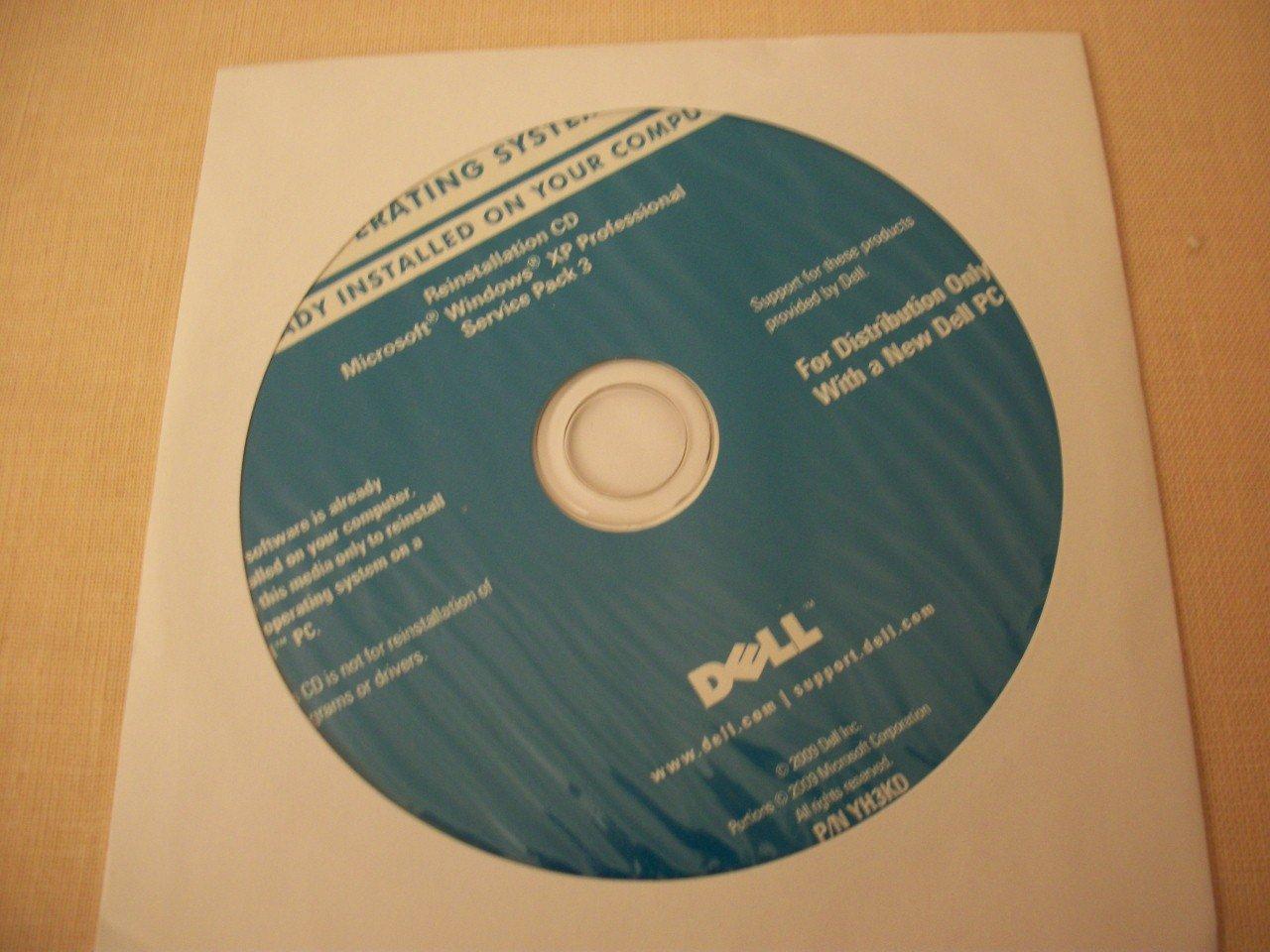 Like NEW DELL GENUINE Microsoft Windows XP Professional Reinstallation SP3 CD